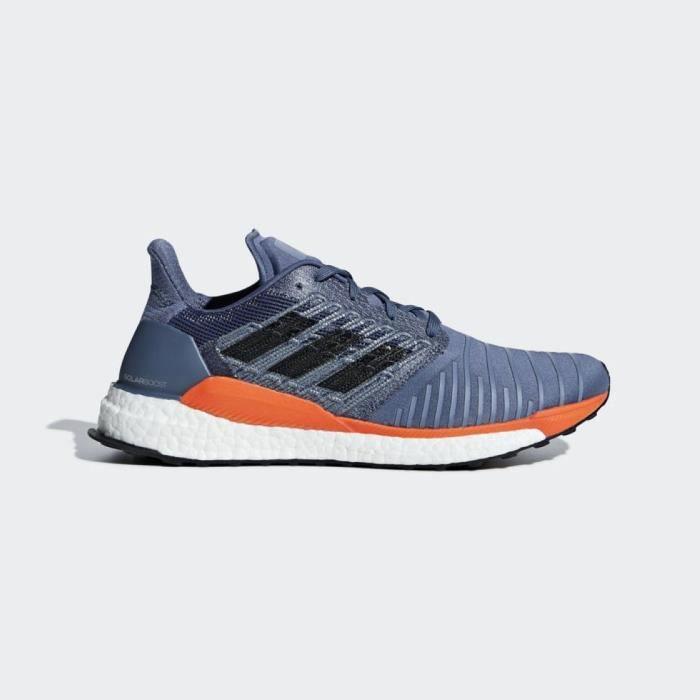 ADIDAS Baskets de running Solar Boost - Homme - Bleu
