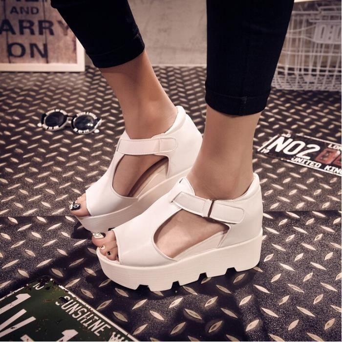 strap cuir Sandals Mode PU Gladiator T P Femmes wq1U6Ud