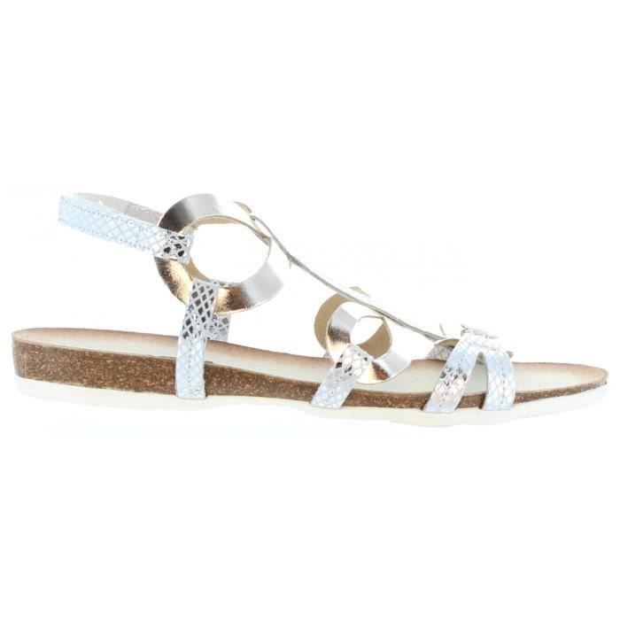 Sandales pour Femme CUMBIA 20123 COMBI PLATA gZgrdl8YK