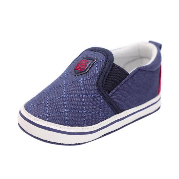 Lavieni ®Enfant en bas âge Bébé Fille Garçon Solide Semelle Souple Anti-slip Sneakers Crib Shoes YJJ71219382 rweu6p9