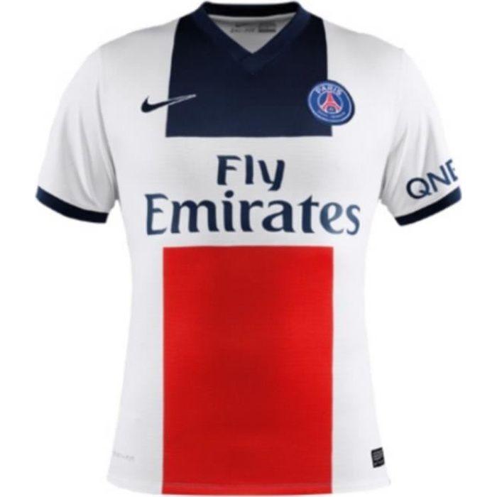 Maillot Adulte Nike Away Saison 2013-2014 PSG Paris Saint-Germain ... 4af15ac5098