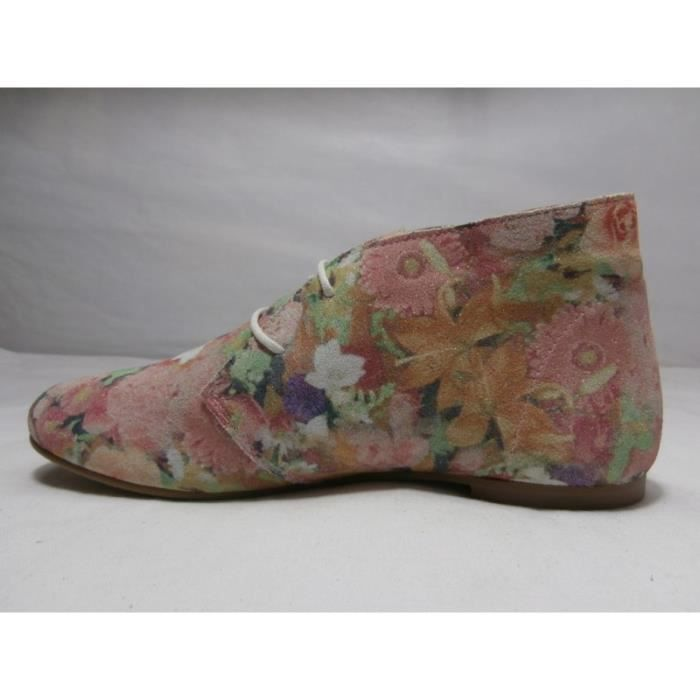 chaussures ippon vintage hyp chic rose