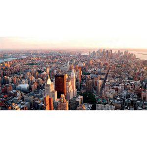 AFFICHE Affiche papier - NY City Manhattan Sunset   -  50x
