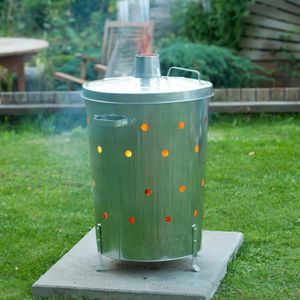 INCINERATEUR P84 Nature Incinerateur pour jardin acier galvanis