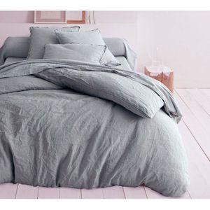 drap en lin achat vente drap en lin pas cher cdiscount. Black Bedroom Furniture Sets. Home Design Ideas
