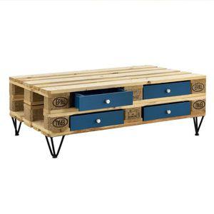 TIROIR COULISSANT [en.casa]® Tiroirs pour meuble de palette - MDF -