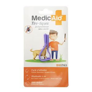 ANTIPARASITAIRE MEDICAID TIRE-TIQUES 2 TAILLES