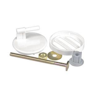 kit de fixation abattant wc achat vente kit de fixation abattant wc pas cher soldes d s. Black Bedroom Furniture Sets. Home Design Ideas