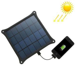 CHARGEUR TÉLÉPHONE Chargeur solaire - 4.2 Watts - 0.8A - avec prise U
