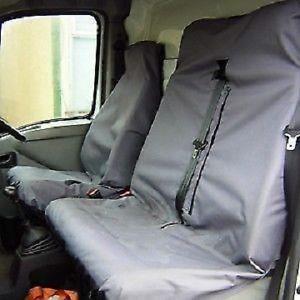 HOUSSE DE SIÈGE FORD TRANSIT 2011 SEAT VAN COUVRE GRIS POIDS LOURD