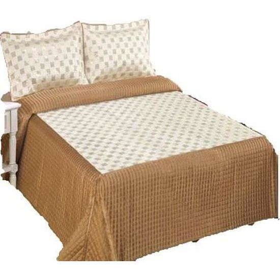 Valerie   couvre lit /dessus de lit + couvre oreillers   perles