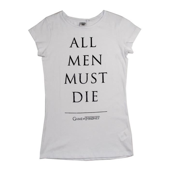 GAME OF THRONES T-shirt Femme 1006769 - 100% coton