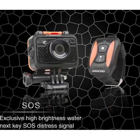 CAMÉSCOPE NUMÉRIQUE SooCoo S60 Camera Sport Etanche 1080P  WIFI ORIGIN