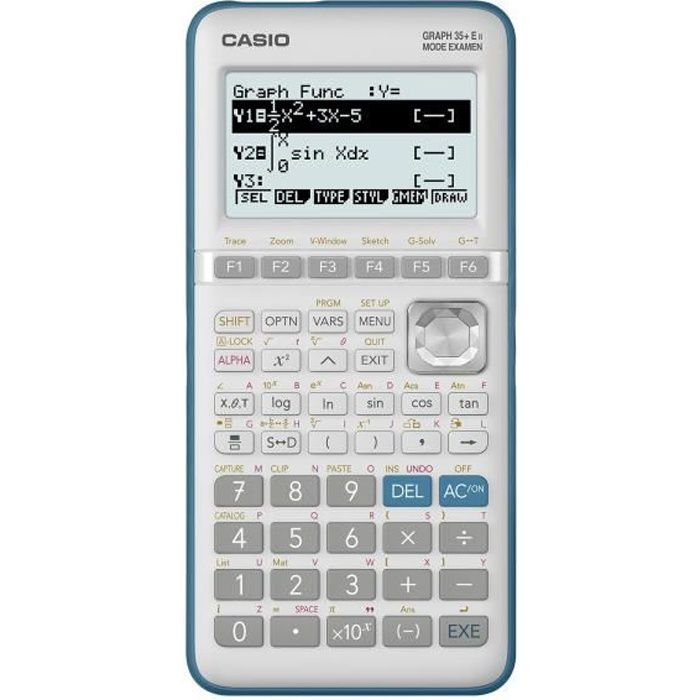 CALCULATRICE CASIO Calculatrice Graph 35+E II Python integré