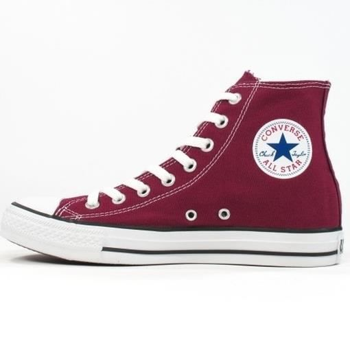 Converse - Converse Hommes Chaussures All Star Hi Rouge M9613 Chucks Sneakers Gr. 46 Réf 23610