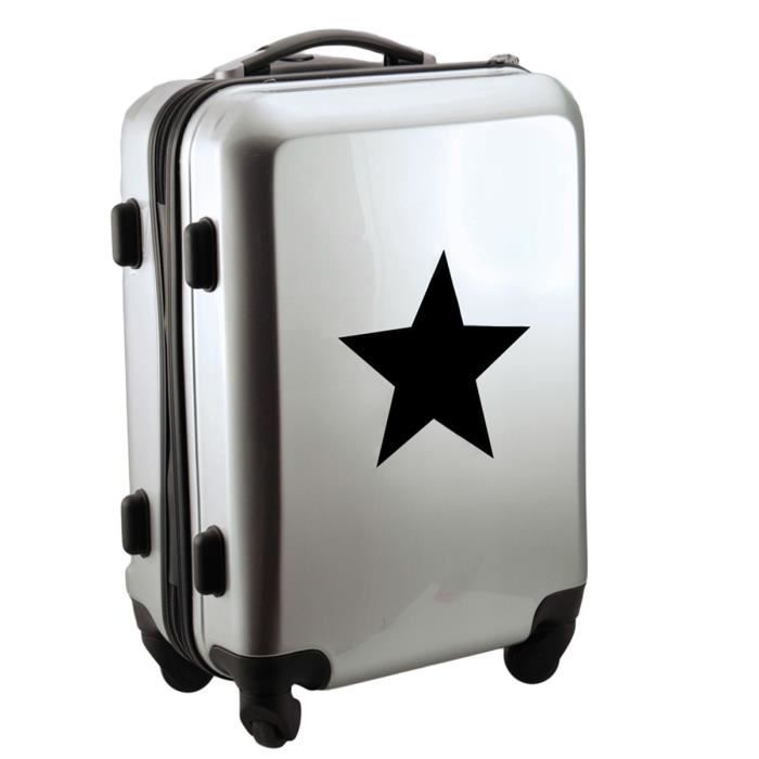 VALISE TROLLEY CABINE - Etoile - Argent Gris - Achat   Vente valise ... c1de8458730
