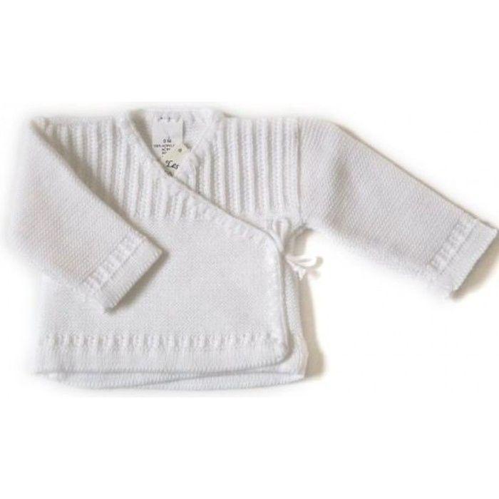 Brassière bébé blanche forme cac… Blanc - Achat   Vente gilet ... 84f761f68ef