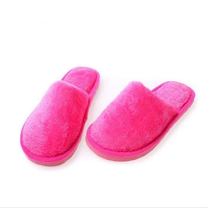 Chaussure Femme Hiver Meilleure Qualité Mode Ultra Confortable Cotton Slipper Chaud Intérieur Étage Chaussures Couleurs De Bonbons 1IRpEfsBLO