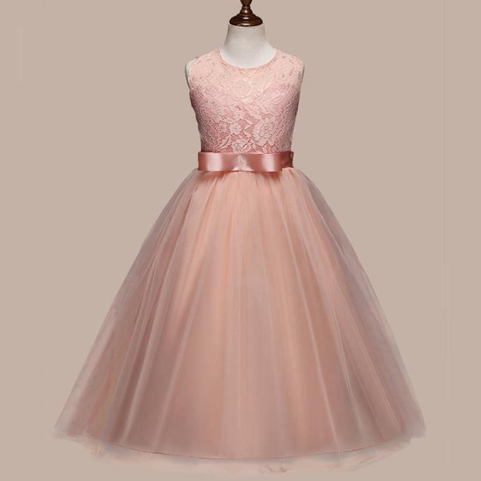 359840b4d56 ROBE DE CÉRÉMONIE Robe de demoiselle d honneur pour les enfants ...