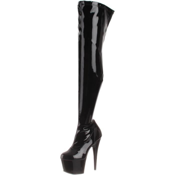 Pleaser Adore-3000-b-m Above-the-knee Boot TKVME Taille-43
