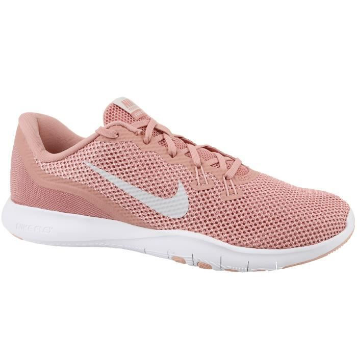 classic fit ab328 f67aa Nike Flex Trainer 7 Wmns 898479-610 Femme Chaussures de fitness Rose
