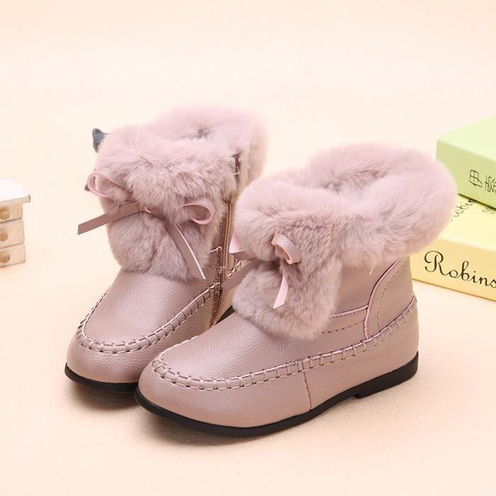 hiver style de neige Bottes enfants coton bottes confortable pour bottes antidérapant courtes bottes nouveau de 2018 pqpwtPXnv