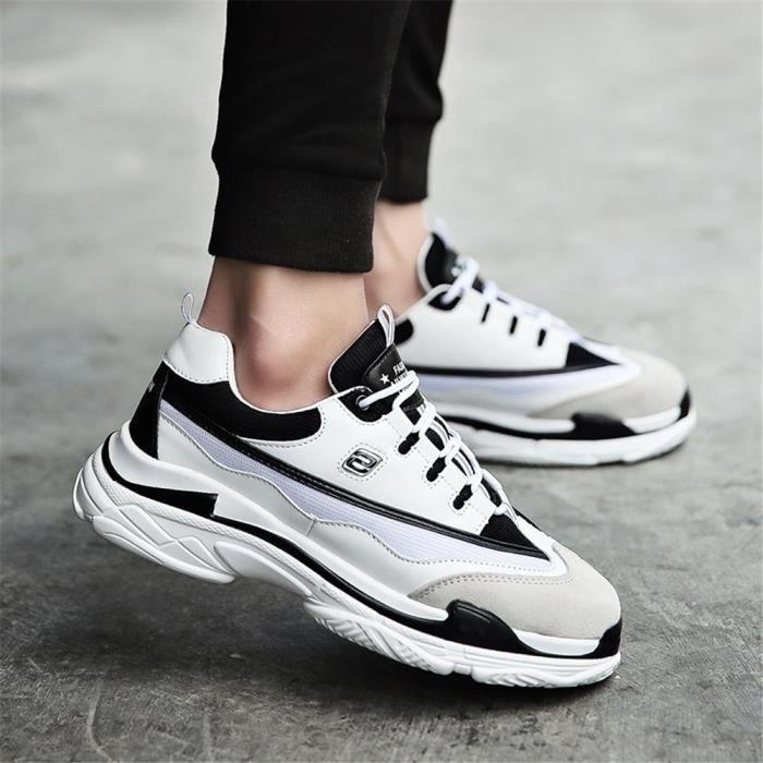 364b8c01e69 ... 2018 ClassiqueDurable Sneakers tendance. BASKET Baskets homme  chaussures personnalité résistantes