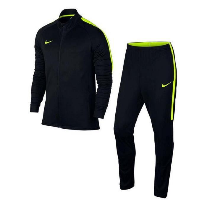 Jogging Nike Swoosh Homme Noir et Jaune