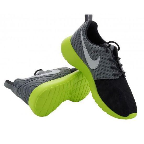 brand new 38418 c29b2 Basket Nike Roshe Run (GS) - 599... Gris Gris - Achat  Vente basket -  Soldes dès le 27 juin ! Cdiscount