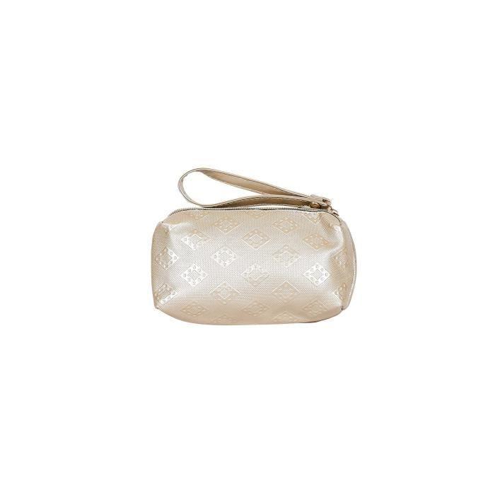 Femmes Mei? Designer Light Gold Pu - synthétique Sacs à main en cuir pour les femmes, Ensemble de 6 FQ8AN