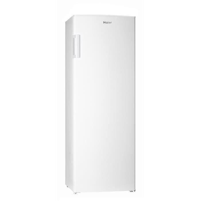 HAIER HUL-676W - Réfrigérateur 1 porte - 335L - Froid statique - A+ - L60 x H170 cm - Blanc