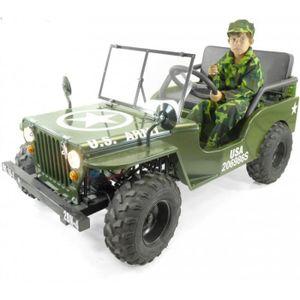 KART Jeep 4 temps 125cc 2 places enfant avec amortisseu