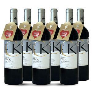 VIN ROUGE 6 bouteilles - Vin rouge - Tranquille - Château d'