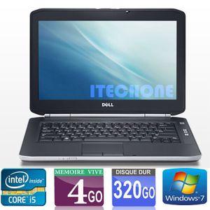 ORDINATEUR PORTABLE DELL LATITUDE E5420 CORE i5 RAM 4 GO HDD 320 GO WI