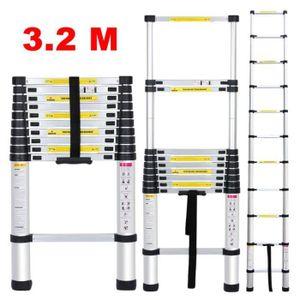 ECHELLE Échelle Télescopique 3.2M Multi-Fonction Polyvalen