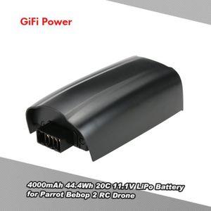 PIÈCE DÉTACHÉE DRONE GiFi Power 4000mAh LiPo Batterie 44.4Wh 20C 11.1V