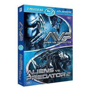 BLU-RAY FILM AVP: Alien Vs. Predator + AVPR: Aliens vs Predator