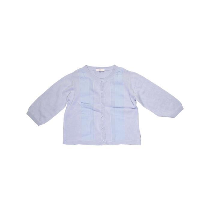 df2b968178eda Gilet enfant fille CHLOÉ 10 ans bleu hiver - vêtement bébé  1033980 ...