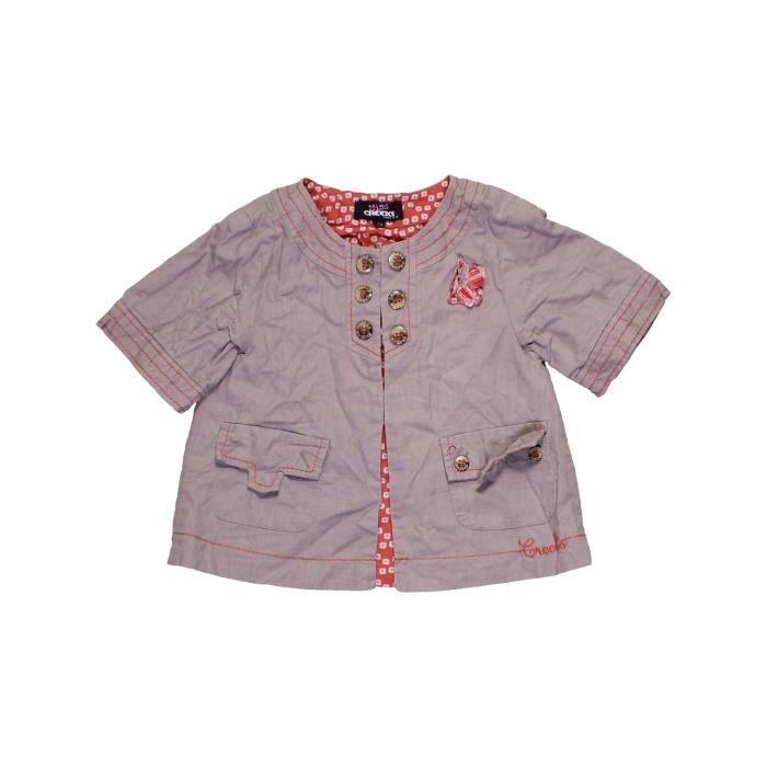 Bébé Fille Creeks Violet Enfant 5 1113865 Ans Gilet Vêtement Été q58ZHE