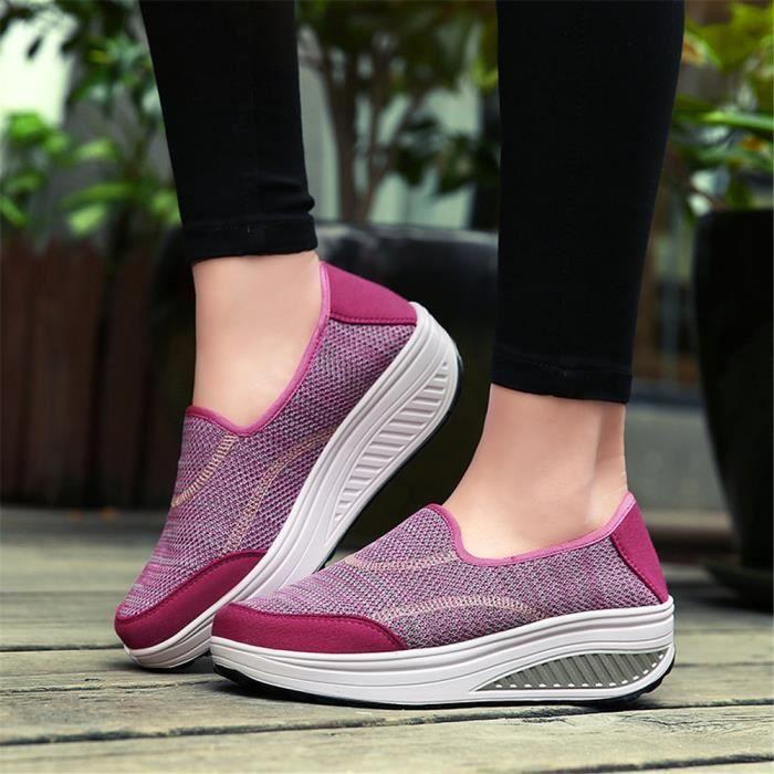 Chaussures Nouvelle Femme Classique Taille Respirant Plus Antidérapant Mode qSMpGUVLz