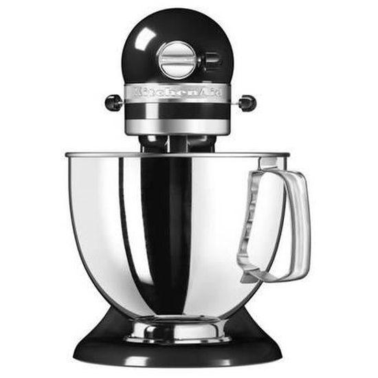KITCHENAID 5KSM125EOB Robot pâtissier Artisan - Noir Onyx - Achat / Vente robot de cuisine - Cdiscount