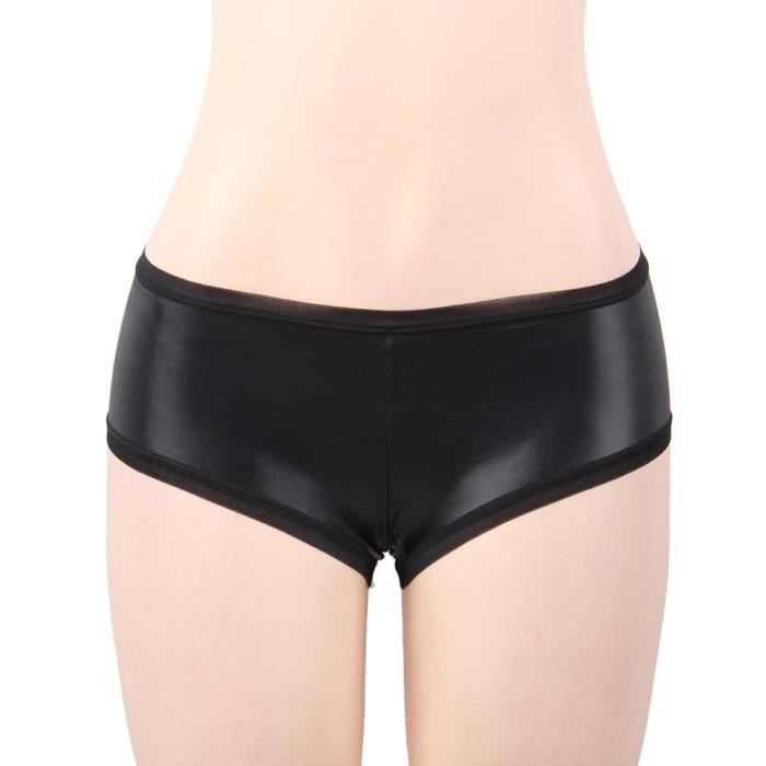 Appeal Pantalon Sexy Nuit Taille noir Boîte Cuir Xxl De Basse En Femmes Sous Sex vêtements 7pdq5w7v