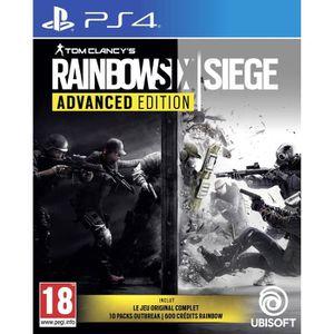 JEU PS4 Rainbow Six Siege Advanced Edition Jeu PS4