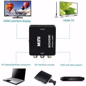 CÂBLE TV - VIDÉO - SON AV RCA Composite convertisseur hdmi pour le magnét