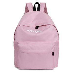 ce3dc1f9bd SAC À DOS Unisexe garçons filles toile sac à dos sac à dos s