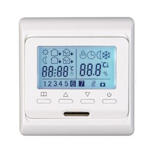 THERMOSTAT D'AMBIANCE LCD sans fil numérique programmable chauffage Ther