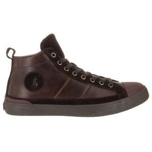 BASKET Polo Ralph Lauren Clarke Sport Suede Sneaker Mode