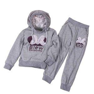 933a43c34a234 Ensemble de vêtements Mode Enfant Fille Vêtements Sport Papillon 2 PCS E