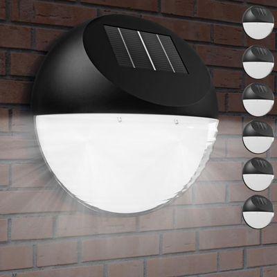 6x Lampe solaire LED Éclairage extérieur Jardin Rechargeable ...