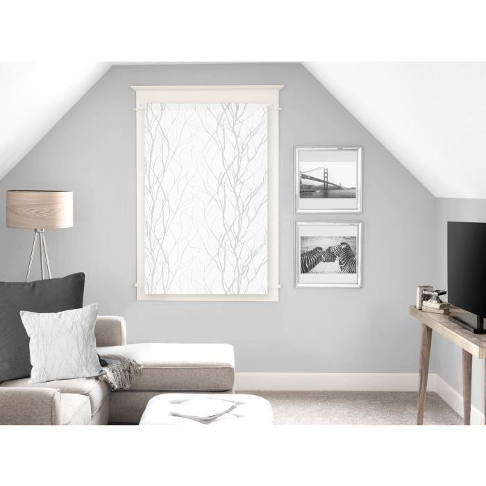 SOLEIL D'OCRE Brise bise Liane 60x90 cm - Blanc